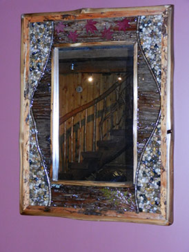 Artistic Natural  Mirror Frame