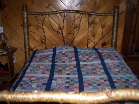 Yellow Birch Bed Frame