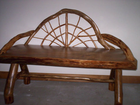 Rustic Furniture - Bench
