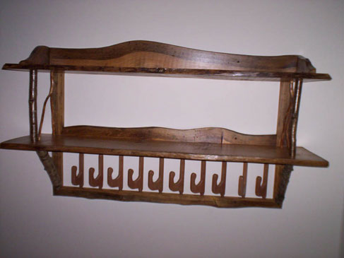 Coat Rack & Shelf