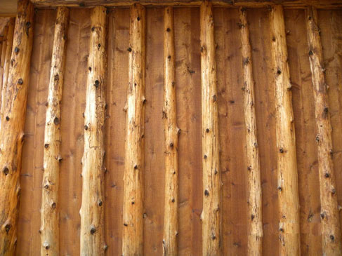 Log Home 1 - Exterior Siding