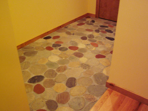 River Rock Entry Floor