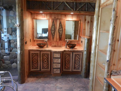 Rustic Bathroom Vanity ...