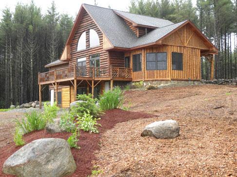 Adirondack Custom Log Homes by Eddy Enterprises, Inc
