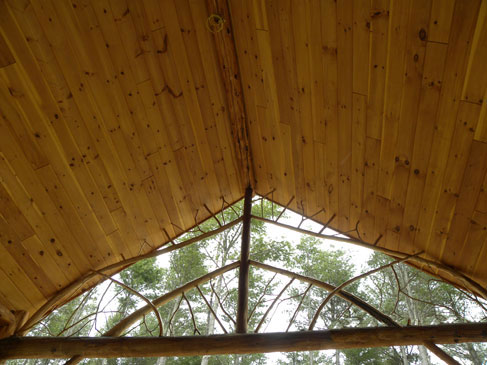 Log Home 1 - Porte Cochere