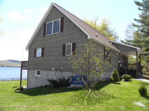 Contstruction services by eddy enterprises inc for Prefab lake homes