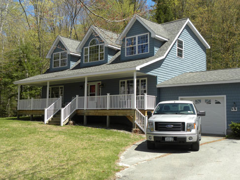 Contstruction services by eddy enterprises inc for Modular lake homes