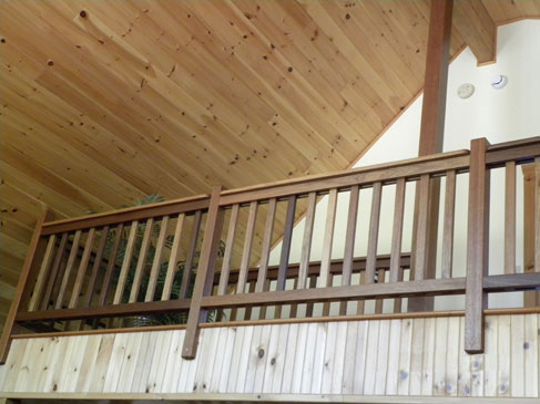 Deck Railing Height furthermore Loft Conversions Exterior Design together with Mobile Home Stairs With Handrails besides Stair Ideas as well Staircase Railings 0. on loft railing design ideas