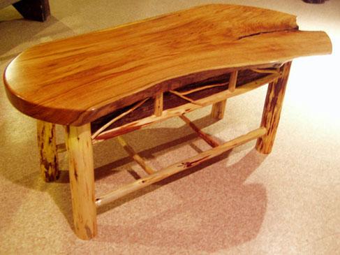 ... Butternut Coffee Table ...