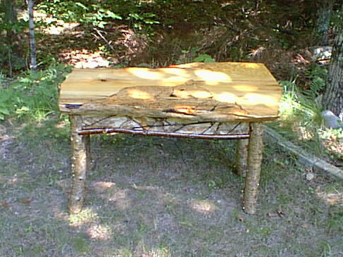 Fawn Coffee Table Side View